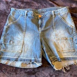 Lane Bryant Painters' Shorts Size 16
